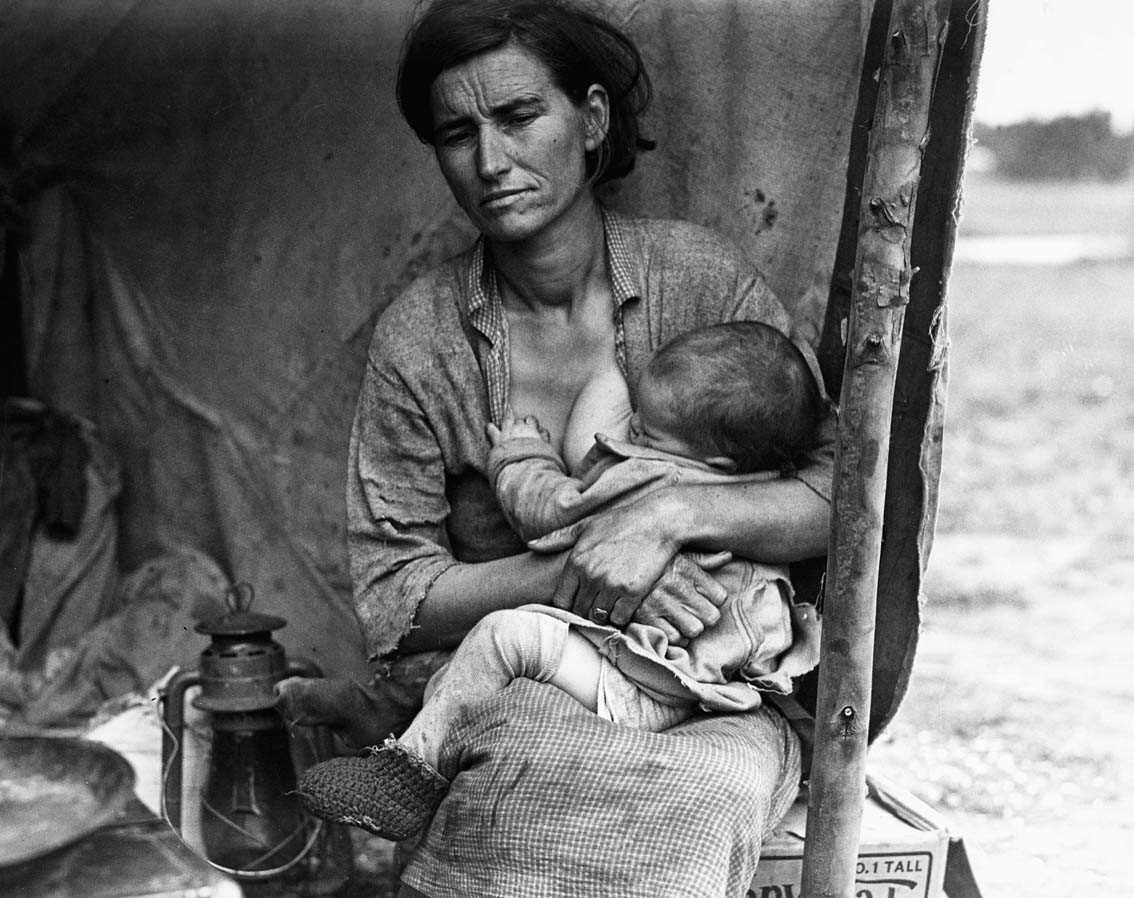 a biography of dorothea lange Dorothea lange is known for her photography of the dust bowl read about her  life's work and how the great depression inspired some of her best work.