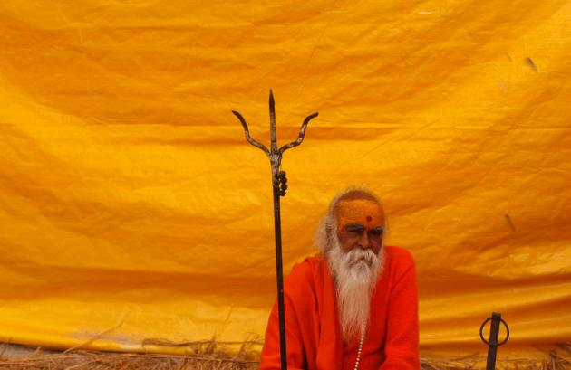 APTOPIX India Kumbh Festival