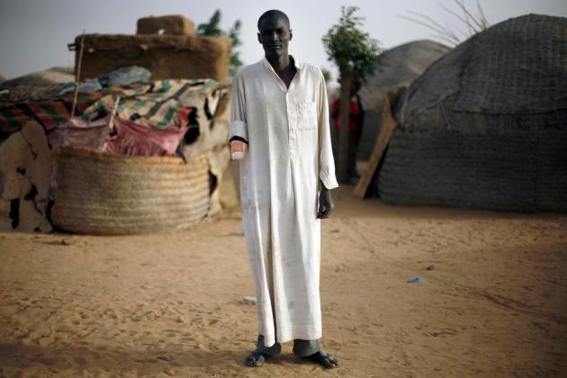 Mali Fighting Amputee