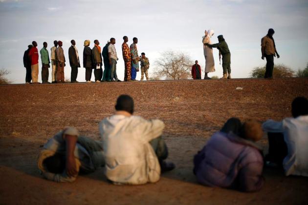 APTOPIX Mali Fighting