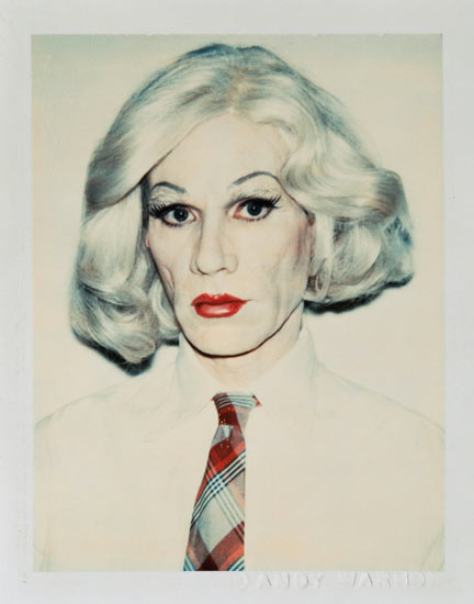Andy Warhol<br /><br /><br />Andy Warhol: Self-portrait in Drag, 1981