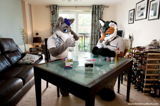 At Home With The Furries