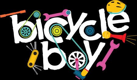 BICYCLE BOY TITLE TREATMENT
