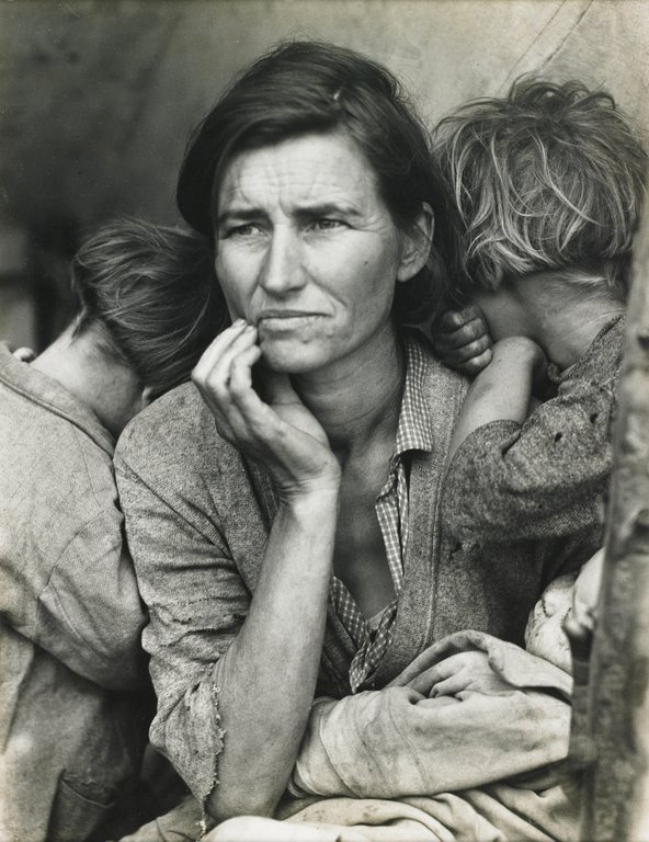 Migrant Mother - Dorothea Lange the story of a picture