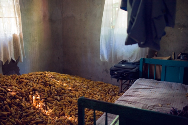A Room Filled With Corn, Les Cayes, Haiti 2009
