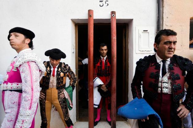 APTOPIX Spain Bullfight