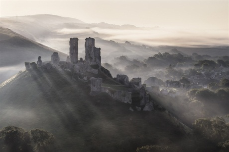 Mirek Galagus, 'Corfe Castle', Dorset. Highly Commended - Classic View