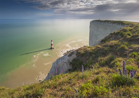 Mirk Galagus, 'Sundial', Beachy Head, East Sussex, Classic View - Calumet Award