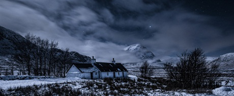 Scott Wilson, 'Black Rock Cottage by Moonlight' Your View