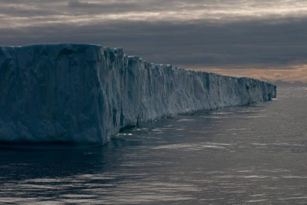 Tabular Iceberg, Baffin Bay