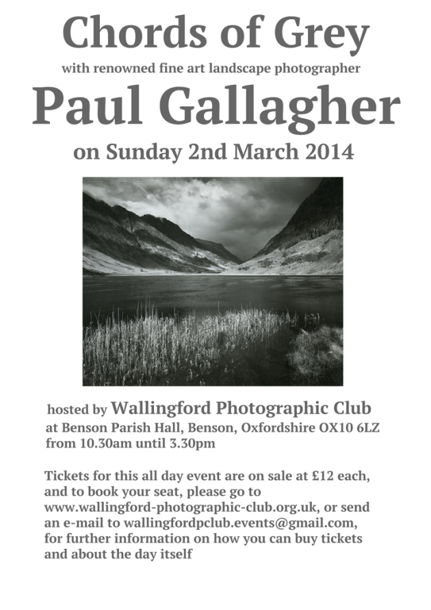 Paul Gallagher Event