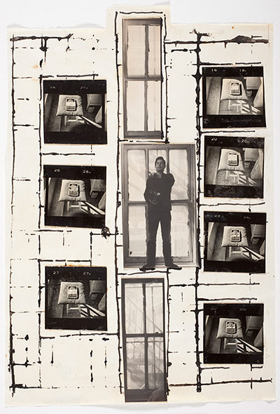 William S. Burroughs, Untitled, 1975