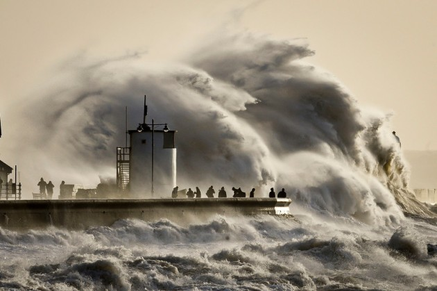 APTOPIX Britain Storms