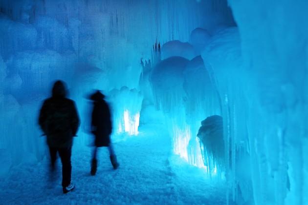 APTOPIX Ice Castles
