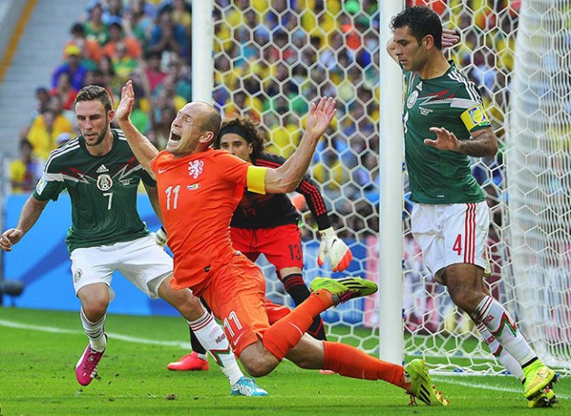 Round of 16 - Netherlands vs Mexico