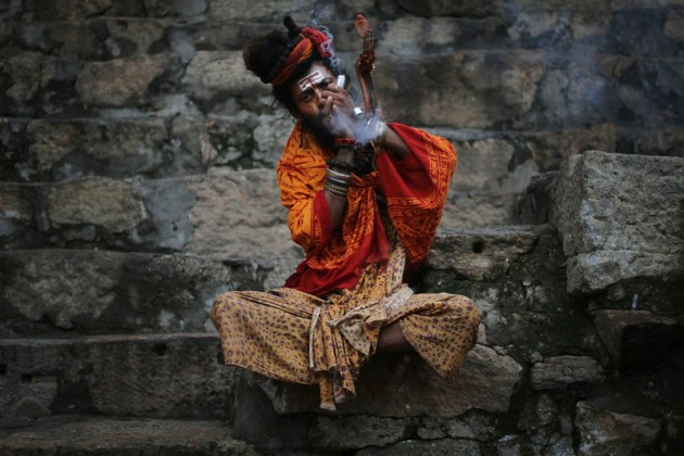 """APTOPIX India Hindu Festival"""