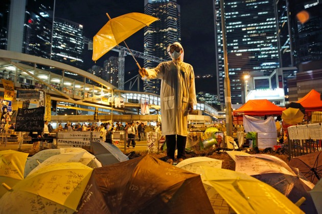 """APTOPIX Hong Kong Democracy Protest"""