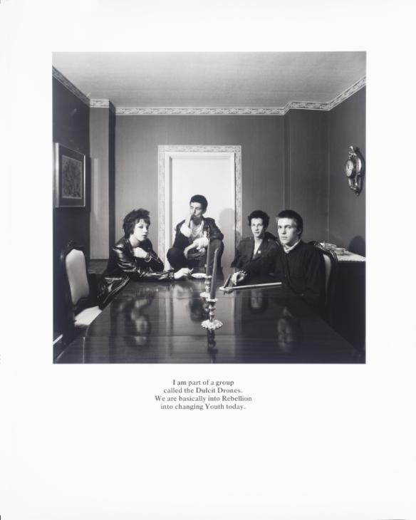 Belgravia 1979-81 Karen Knorr born 1954 Presented by Tate Members 2013 and forming part of Eric and Louise Franck London Collection http://www.tate.org.uk/art/work/P80334