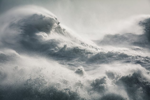 Rachael Talibart Maelstrom, Storm Imogen, taken at Newhaven, East Sussex, won the Sunday Times Magazine award Photograph: Rachael Talibart/PA