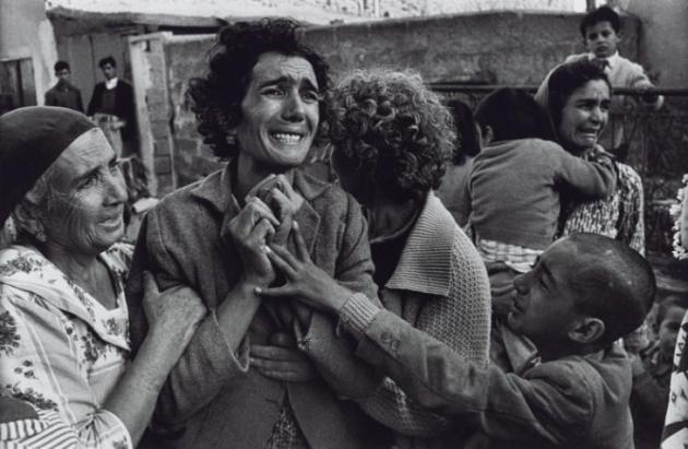 Cyprus 1964, printed 2013 by Don McCullin born 1935